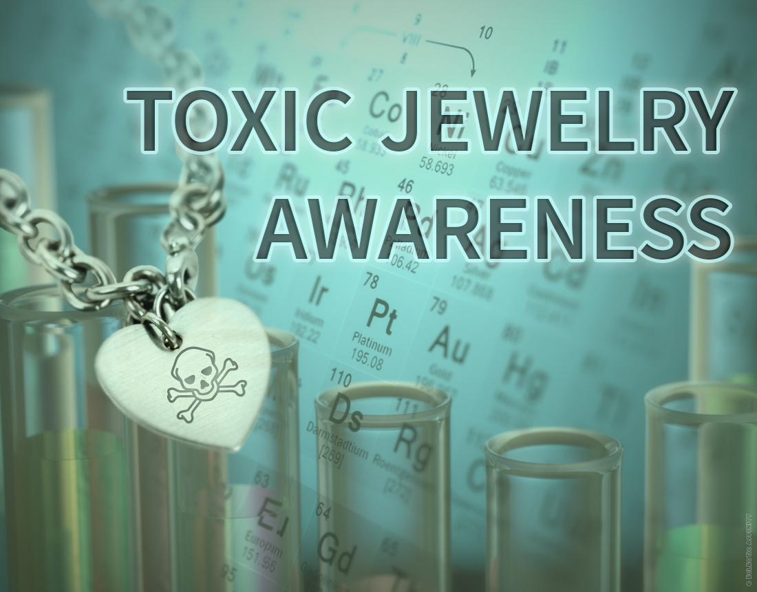 Toxic Jewelry Awareness blog post by Eclectic Affinity