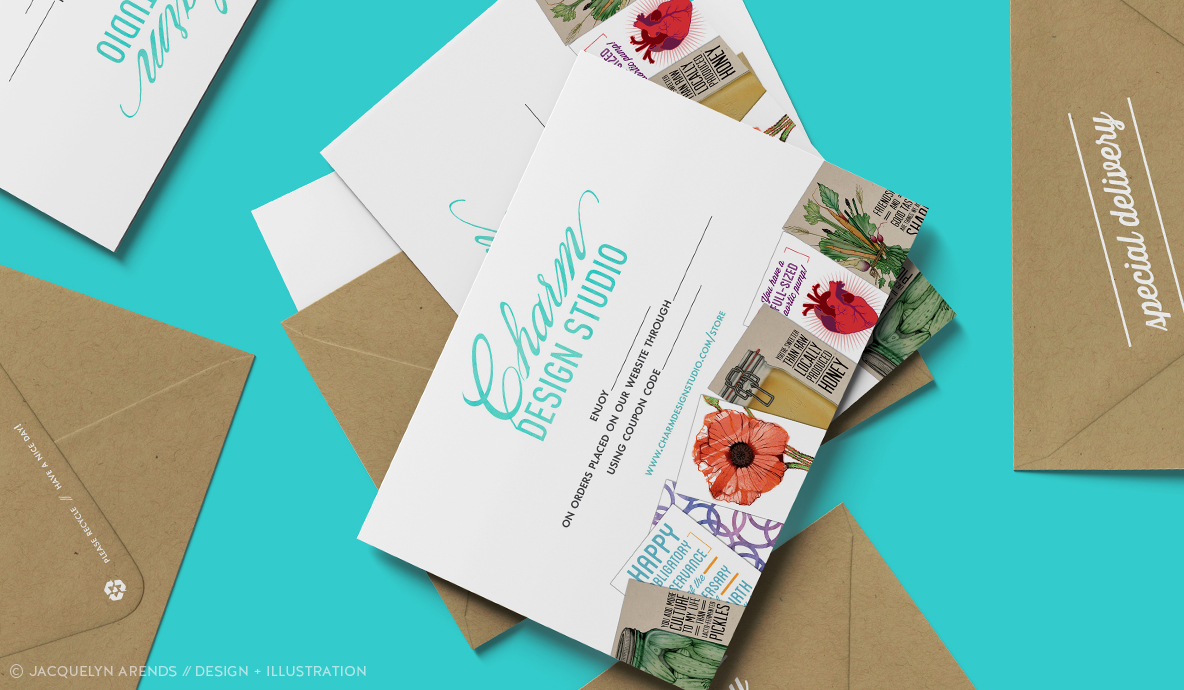 Charm Design Studio coupon card
