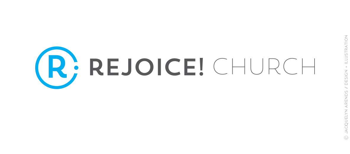 Rejoice! Church logo