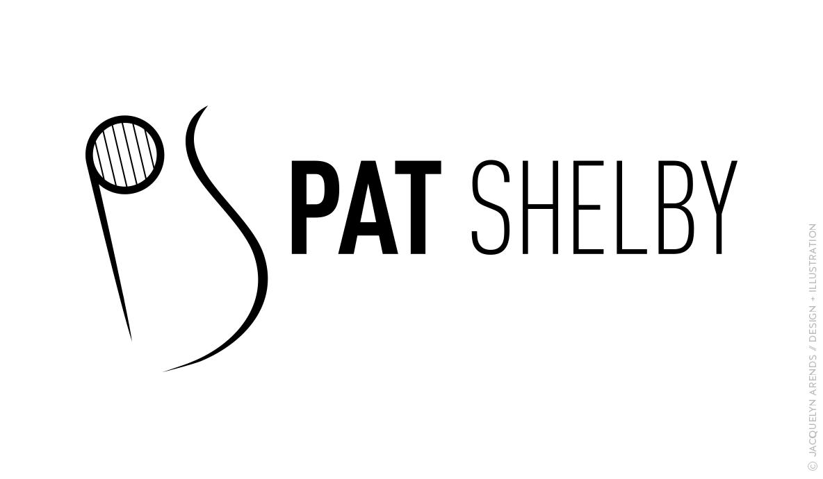 Pat Shelby identity design