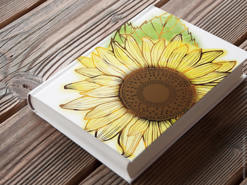 Garden Sunshine - floral collection by Charm Design Studio
