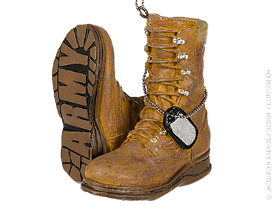 JacquelynArends-MWCBK-SpecialtyOrnaments-MilitaryBoots