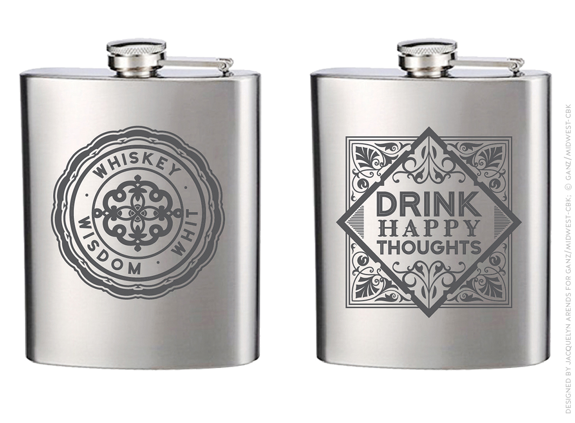 Men's Gift 2018 - flasks; © Ganz/Midwest-CBK 2018
