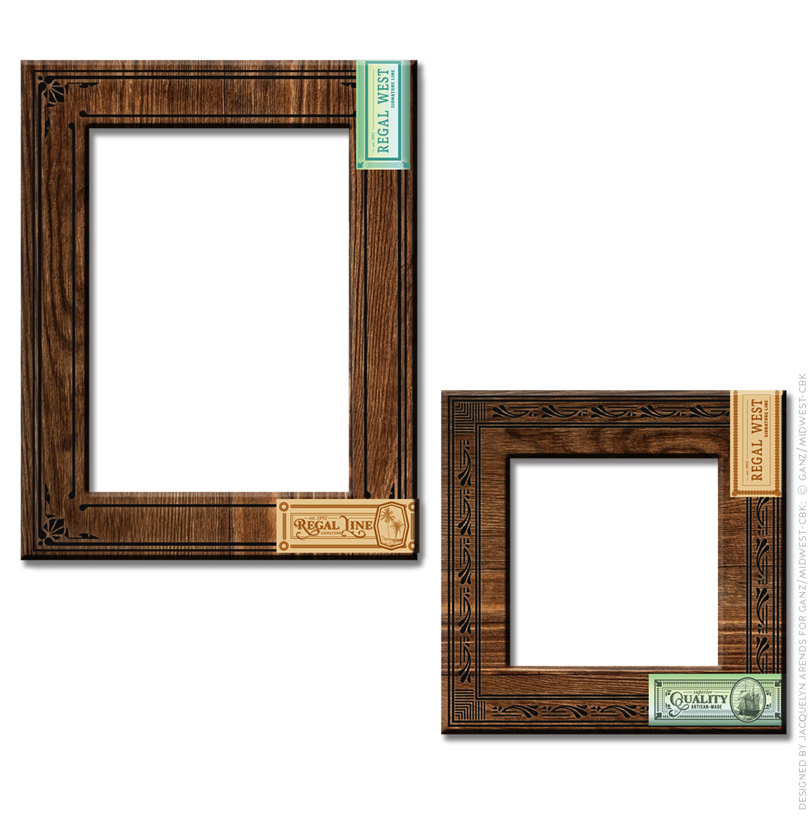 Men's Gift 2018 - cigar box frames; © Ganz/Midwest-CBK 2018