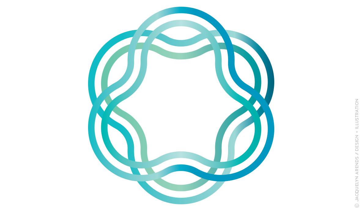Pixelumina logo icon; copyright Jacquelyn Arends
