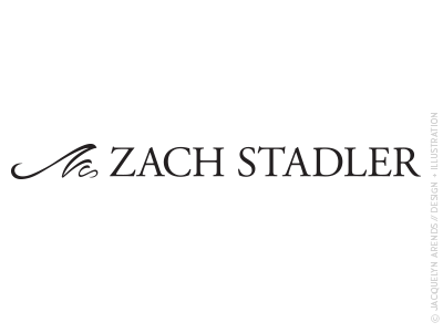 Zach Stadler Photography identity design; copyright Jacquelyn Arends