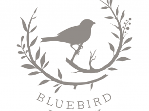Bluebird Finery logo; © Jacquelyn Arends