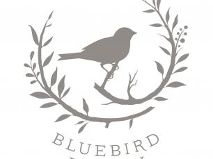 Bluebird Finery logo; © Jacquelyn Arends
