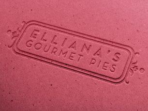 Elliana's Gourmet Pies logo; © Jacquelyn Arends