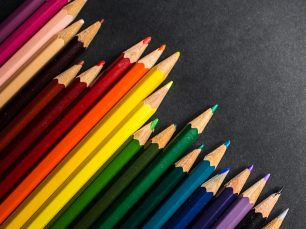 Colorful Pencils; © Pixelumina