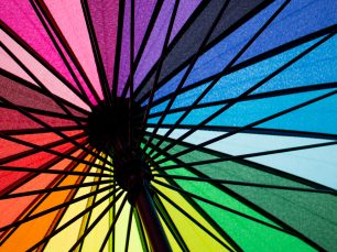 Rainbow Umbrella; © Pixelumina