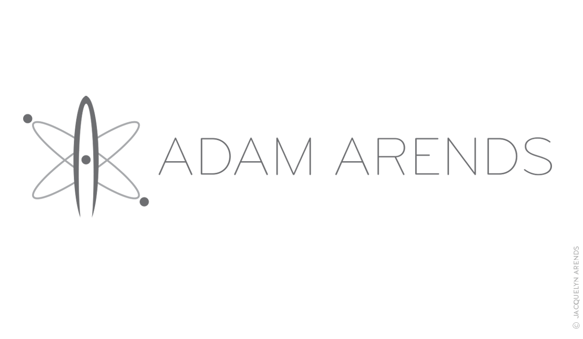 Adam Arends logo design; © Jacquelyn Arends