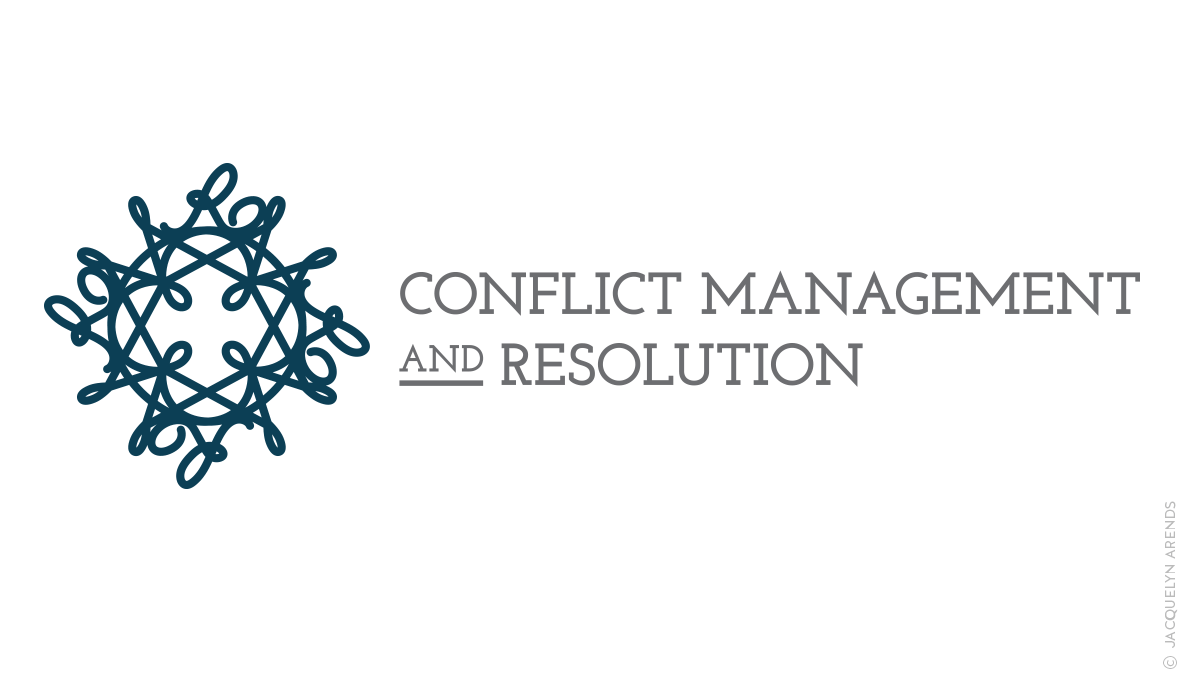 Conflict Management and Resolution logo for Brand Yourself; © Jacquelyn Arends