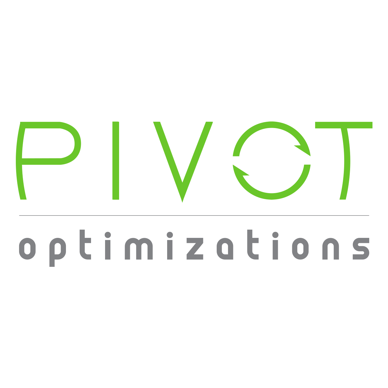 Pivot Optimizations logo design © Jacquelyn Arends